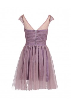 A-Line Short Beaded Prom Evening Formal Party Dresses ED010378