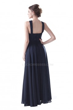 A-Line Long Chiffon and Lace Beaded Prom Evening Formal Party Dresses ED010402