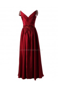 A-Line Cap Sleeve Long Prom Evening Formal Party Dresses ED010428