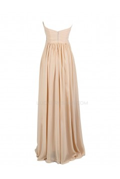 A-Line Sweetheart Beaded Long Chiffon Prom Evening Formal Party Dresses ED010445