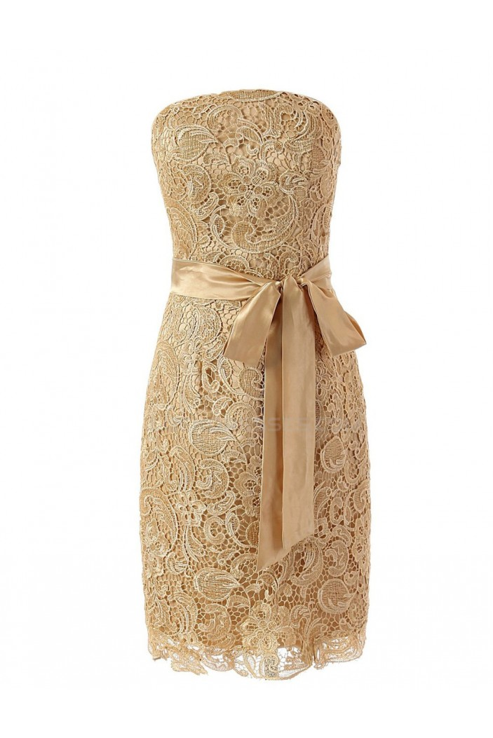Strapless Short Prom Evening Formal Party Dresses ED010446