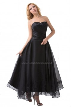 A-Line Long Blue Prom Evening Formal Party Dresses ED010499