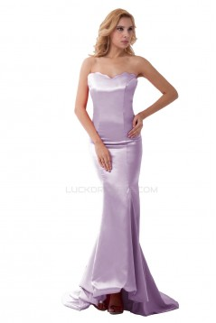 Trumpet/Mermaid Sweetheart Long Prom Evening Formal Party Dresses ED010505