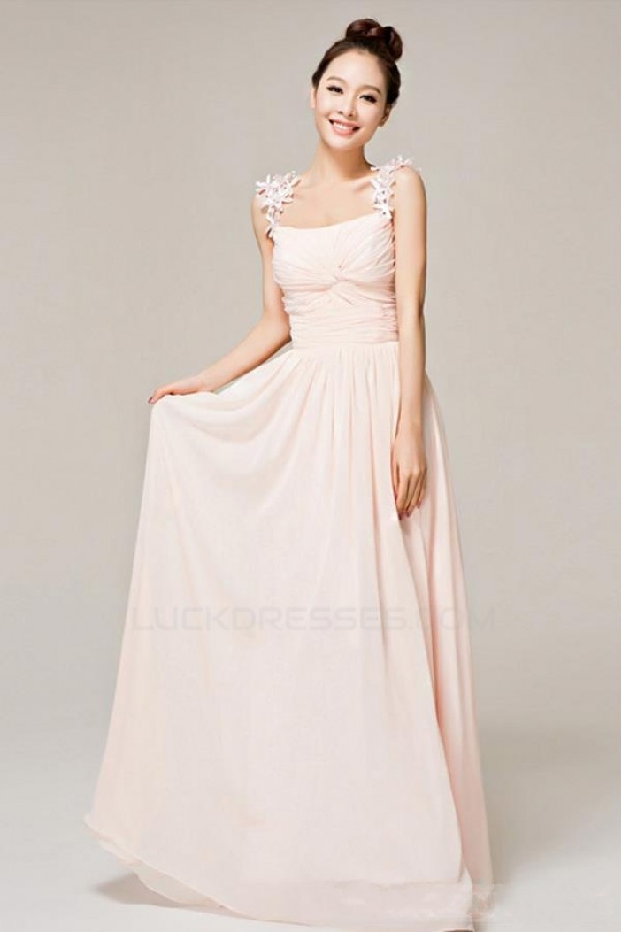 A-Line Long Chiffon Prom Evening Formal Party Dresses ED010533
