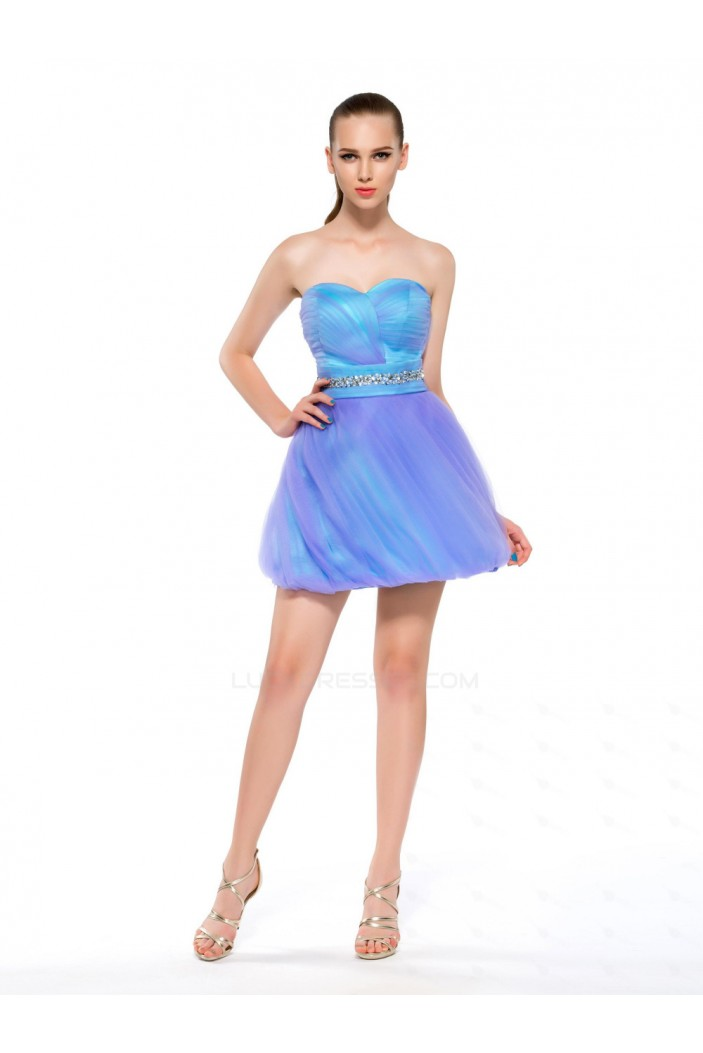 Short/Mini Sweetheart Beaded Prom Evening Cocktail Homecoming Party Dresses ED010631
