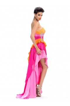 High Low Sweetheart Beaded Long Prom Evening Formal Party Dresses ED010664