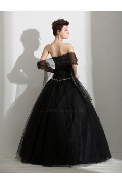 Ball Gown Sweetheart Beaded Long Prom Evening Formal Party Dresses ED010713