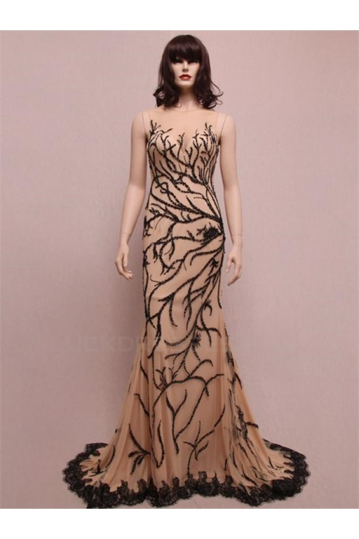 Trumpet/Mermaid Long Prom Evening Formal Party Dresses ED010763