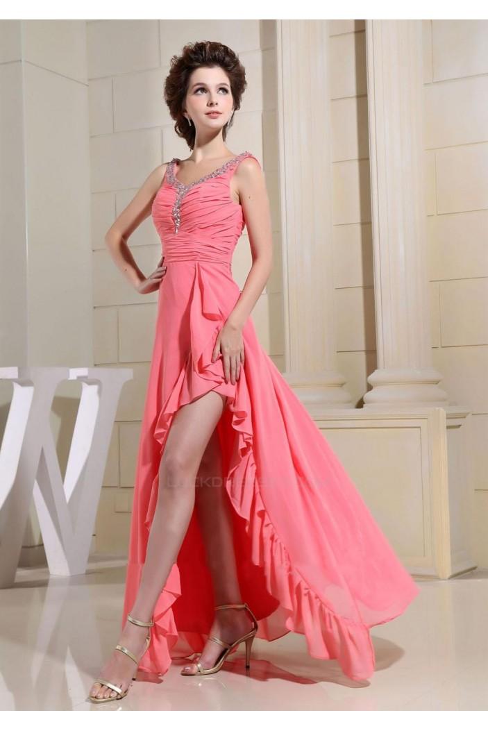 Beaded Long Chiffon Prom Evening Dresses ED010800