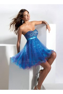 Short/Mini Sweetheart Sequins Cocktail Homecoming Prom Dresses ED010869