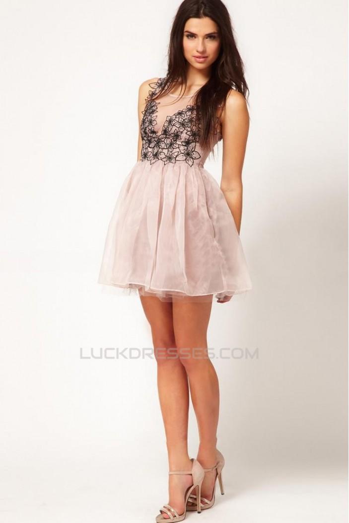 A-Line Short Cocktail Prom Evening Formal Dresses ED010945