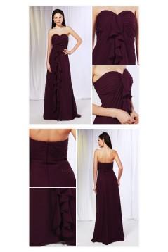 Empire Sweetheart Long Chiffon Prom Evening Formal Dresses Maternity Dresses ED010993