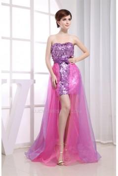 Amazing Sheath/Column Soft Sweetheart Floor-Length Sequins Prom Evening Dresses 02020052