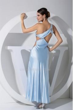 Ankle-Length Sheath/Column One-Shoulder Prom/Formal Evening Dresses 02020057