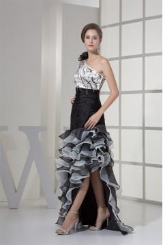 Asymmetrical One-Shoulder Sleeveless A-Line Prom/Formal Evening Dresses 02020060