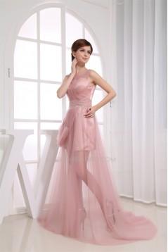 Beading Sheath/Column Scoop Sleeveless Prom/Formal Evening Dresses 02020087