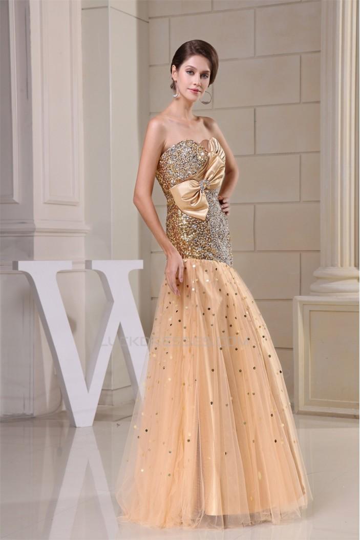 Beading Sleeveless Floor-Length Sweetheart Sequins Long Prom/Formal Evening Dresses 02020094