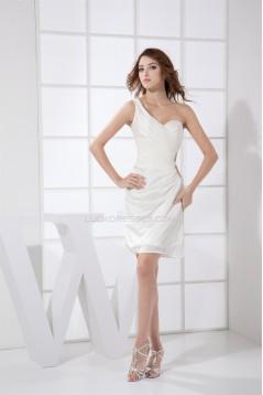 Short/Mini One-Shoulder Evening Party Dresses 02021013