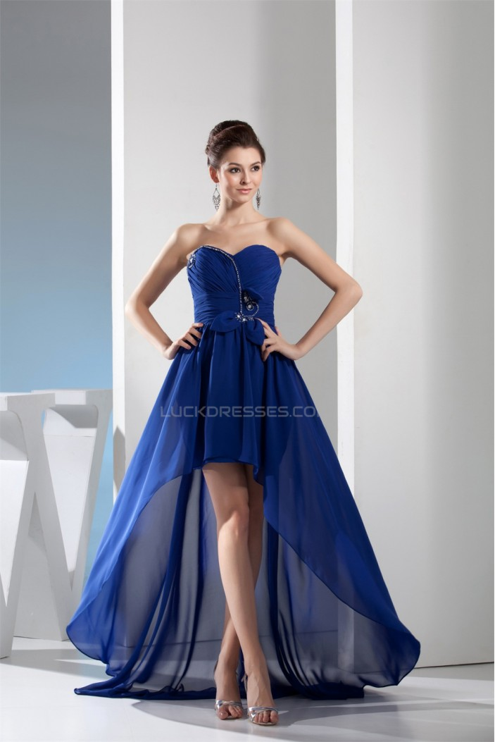 High Low Chiffon Prom/Formal Evening Dresses 02021019