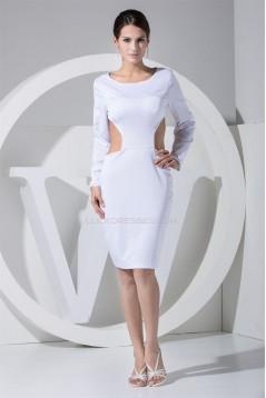 Knee-Length Sheath/Column Prom/Formal Evening Dresses 02021088