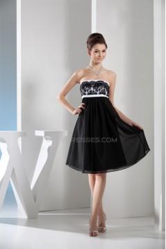 Empire Lace Chiffon Sleeveless Evening Party Bridesmaid Dresses Maternity Dresses 02021145