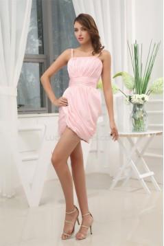 Sheath/Column Chiffon Spaghetti Straps Prom/Formal Evening Dresses 02021146