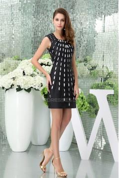 Sheath/Column Satin Taffeta Sleeveless Prom/Formal Evening Dresses 02021147