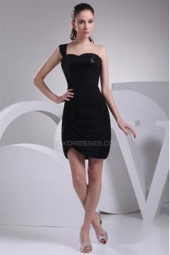 Sheath/Column Sequins Sleeveless Short/Mini Little Black Dresses 02021148