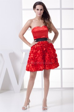Sheath/Column Sleeveless Silk like Satin Fine Netting Prom/Formal Evening Dresses 02021152