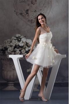 Short/Mini Straps Beading Sleeveless A-Line Prom/Formal Evening Dresses 02021189