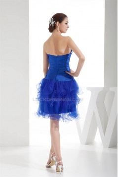 Silk like Satin Fine Netting Sweetheart Prom/Formal Evening Dresses 02021195