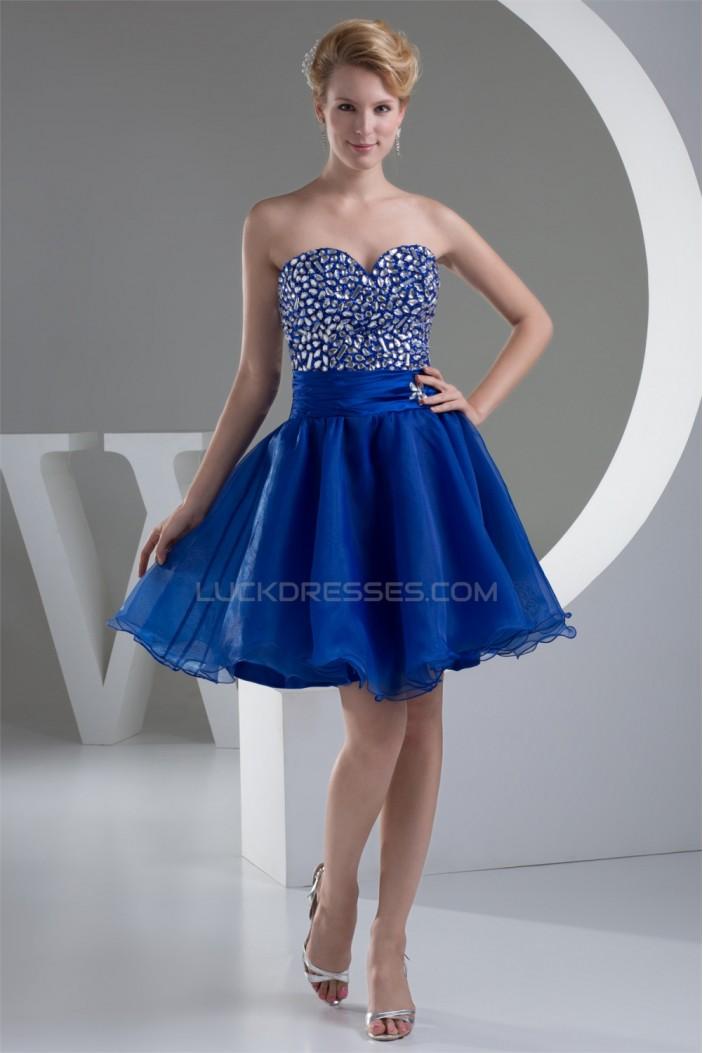A-Line Short/Mini Sweetheart Prom/Formal Evening Dresses 02021201
