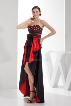 Sleeveless Beading Sweetheart Asymmetrical Prom/Formal Evening Dresses 02021207