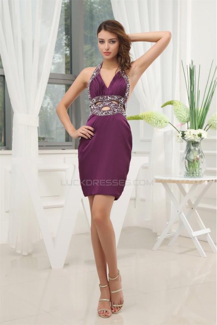 Sleeveless Short/Mini Chiffon Prom/Formal Evening Dresses 02021227