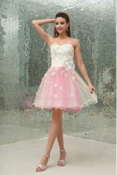 Sleeveless Short/Mini Sweetheart A-Line Prom/Formal Evening Dresses 02021228