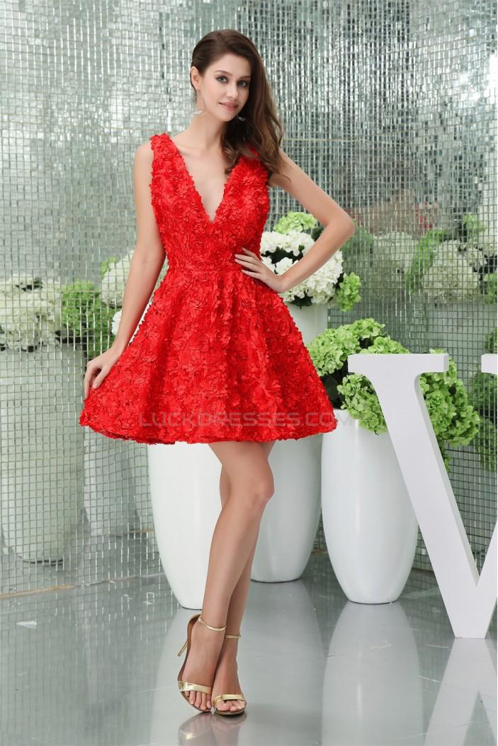 Sleeveless V-Neck A-Line Lace Silk like Satin Wedding Dresses 02021235