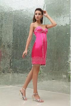 Sweetheart Beading Sleeveless Short/Mini Prom/Formal Evening Dresses 02021256