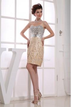 Sweetheart Sheath/Column Beading Sleeveless Prom/Formal Evening Dresses 02021258