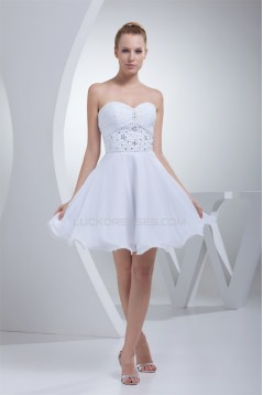 A-Line Short/Mini Sweetheart Sleeveless Prom/Formal Evening Bridesmaid Dresses 02021263