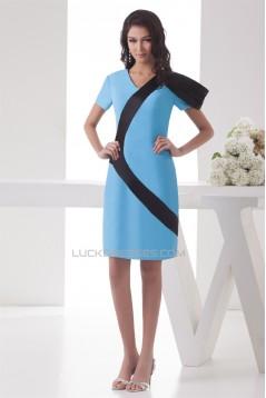 Sheath/Column Short Prom/Formal Evening Dresses 02021275