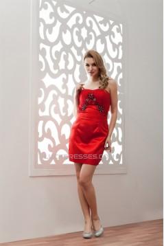 Beading Sweetheart Sleeveless Short/Mini Prom/Formal Evening Dresses 02021306