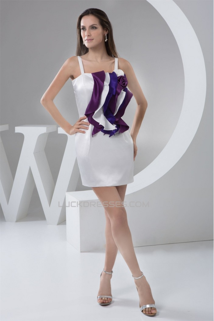 Handmade Flowers Elastic Woven Satin Sheath/Column Prom/Formal Evening Dresses 02021325