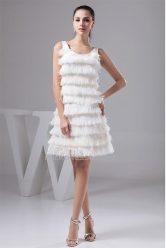 Knee-Length A-Line Sleeveless Straps Prom/Formal Evening Dresses 02021330