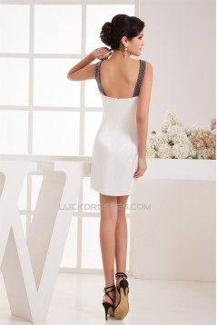 Sheath/Column Asymmetrical Short/Mini Prom/Formal Evening Dresses 02021354