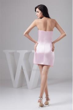 Sheath/Column Beading Sleeveless Silk like Satin Prom/Formal Evening Dresses 02021356