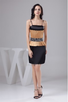 Sheath/Column Sleeveless Beading Short/Mini Prom/Formal Evening Dresses 02021368