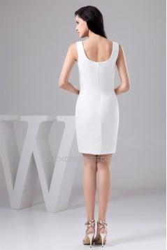 Sheath/Column Sleeveless Satin Spandex Mother of the Bride Dresses 02021369