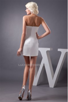 Short/Mini Sheath/Column Sleeveless Sweetheart Prom/Formal Evening Dresses 02021387