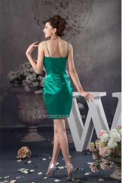 Short/Mini Sleeveless Chiffon Silk like Satin Prom/Formal Evening Dresses 02021393