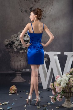 Silk like Satin Sheath/Column Sleeveless Prom/Formal Evening Dresses 02021402